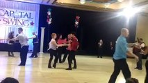 Rosiee Thormahlen dancing at Capitol West Coast Swing, 2/14