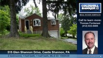 Homes for sale 515 Glen Shannon Drive Castle Shannon PA 15234 Coldwell Banker Real Estate Services