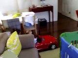 Nico conduciendo un BMW sin carnet - Nico driving a BMW