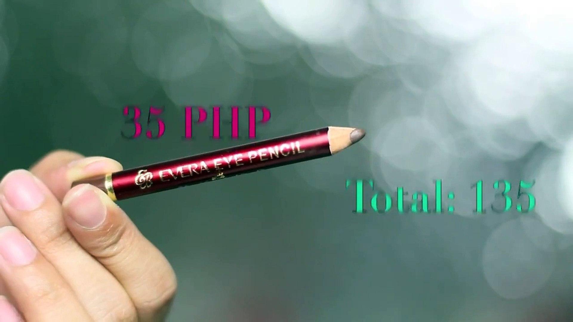 500 Peso Makeup Challenge!! clairbellatv
