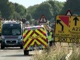 Angleterre: sept morts dans le crash d'un avion lors d'un meeting aérien