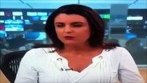 Apresentadora e Repórter do Globo News se desentenderam ao Vivo !