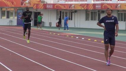 Les sprinteurs français se tiennent prêts
