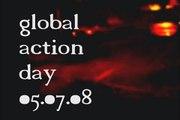 G8 Japan - Anschlag auf McDonalds mit unbekannter Flüssigkeit am 5.7.08 / global action day