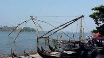 Chinese Fishing Nets, Fort Cochin, Kochi, Kerala, India - 4.1.2010