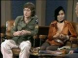 John Lennon and Yoko Ono Dick Cavett Show  Excerpt 4 of 6