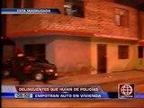 América Noticias: Policía logró detener a 5 delincuentes en dos operativos en San Juan de Lurigancho