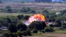 RAW Shoreham Airshow Plane Crash As Hawker Hunter Hits A27 In West Sussex, South England, UK