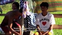 Programa de nutrición en Filipinas seis meses después