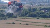 Terrible accident d'avion pendant le Shoreham Air Show, Sussex - 7 morts