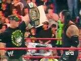 John Cena,The Undertaker, Shawn Micheals, Randy Orton,Edge, batista ,and bobby lashley segment