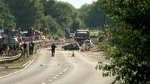 GB: au moins sept morts après le crash d'un avion