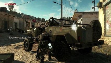 Gameplay Trailer Reflex Mode de Metal Gear Solid V : The Phantom Pain
