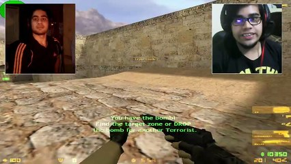 Counter Strike 1.6 Gameplay With Friends (Sara And Ismail)