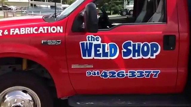 My welding truck