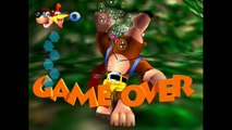 SCARIEST GAME OVER SCREENS in Nintendo Games! (Wii U, GC, N64, SNES)