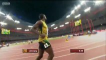 Usain Bolt beats Justin Gatlin 100m Final (Usain Bolt Wins 100m) World Championships Beijing 2015