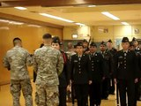 Fort Hamilton High School Tiger Battalion JROTC Drill Team Francis Lewis Armed Inspection