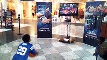 NBA baller beats Castleton mall Simon Malls tour