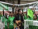 Iranian UN protest - Sar umad Zemestoon (Song)