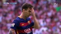 Messi rate un penalty contre Bilbao