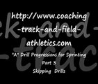 Sprinting Drills to Improve Sprinting Technique Part 3. _A_ Skip Drills