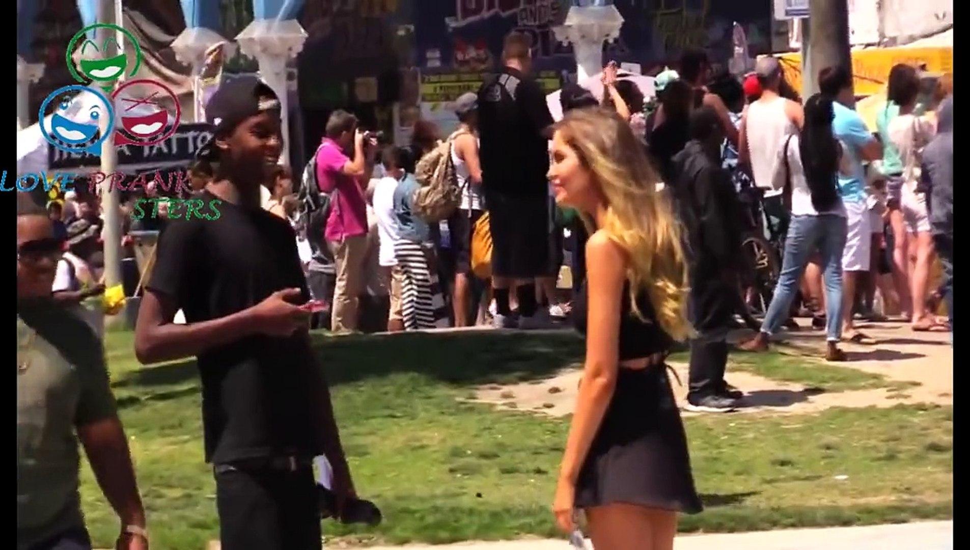 BALLS ON GIRL PRANK (PRANK GONE WROONG) - Best Bikini Pranks - Best Pranks - Funny Pranks 2015