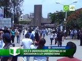 Sólo 9 Universidades Nacionales se adecuaron a la Ley Universitaria - Trujillo