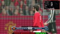 Manchester United vs Newcastle 2015 0-0 EPL Premier League 22/08/2015 HD | simulacion