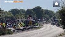 Au moins 7 morts dans le crash d'un avion lors d'un meeting aérien dans le sud de l'Angleterre