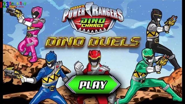 Game Siêu nhân khủng long diệt Boss - Power Ranger Dino Duels