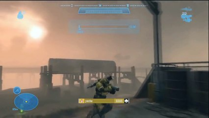 Complete halo reach armory and all armor effects HD Video