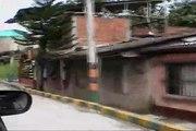 A car ride through Buenaventura, Valle, Colombia