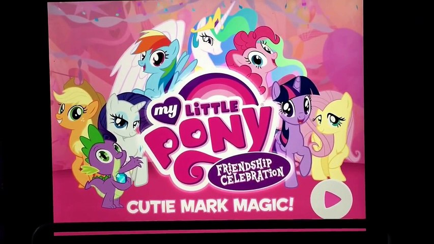 My Little Pony Friendship Celebration App Game NEW CHARACTERS Scans MLP Rarity's Booktique Playset