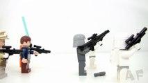 AT AT WALKER Lego Star Wars Stop Motion Review Set 8129
