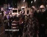 sport.zgora.pl - Tragiczne wydarzenia w Zielonej Górze, śmierć kibica, starcia z Policją