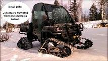 John Deere Gator XUV 855D med belter