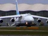 Antonov 124 UR-82027 Doncaster Sheffield Robin Hood Airport