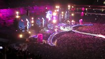Wristbands light up in Coldplay concert Emirates Stadium London