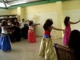 belly dance en el colegio cristo de los milagros.