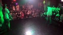 daddy cat vs Hiroki POP FINAL / R16 2015 JAPAN FUNKSIDE DANCE BATTLE
