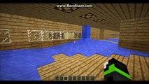 Hur man gör ett brandlarm med sprinklers i Minecraft / How to make a fire alarm with sprinkler in MC