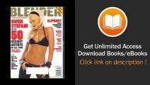 Blender Magazine - Gwen Stefani on Cover - Alicia Keys - Billy Joel - The Strokes - Slipknot - Ryan Adams - How to Live Like Led Zeppelin - BOOK PDF