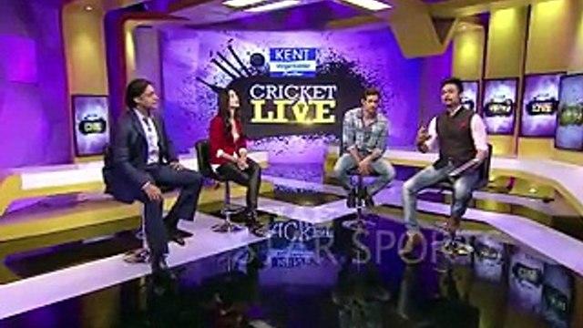 Amazing Videos: Katrina Kaif Flirting With Shoaib Akhter In Indian TV Show