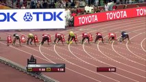 A Pekin, Usain Bolt remporte l'or sur 100m