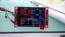 ESP8266 ILI9341 TFT demo