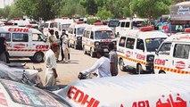 Heat wave Killed 136, Karachi Pakistan
