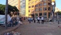 Proteste a Beirut contro il governo, decine di feriti negli scontri tra manifestanti e polizia