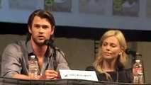Snow White and the Huntsman, Kristen Stewart and Chris Hemsworth, at Comic Con 2011