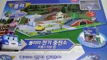 로보카폴리 전기 충전소 장난감 Robocar Poli Toys Робокар Поли Игрушки Мультфильмы про машинки